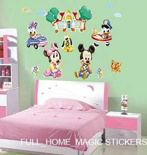 BABY MICKEY Decor Mural Art Wall Sticker Decal FREE P&P