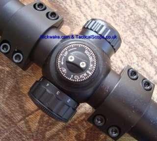 Nikko Mountmaster 4 12x50 Parallax Illuminated Rifle Scope with 3/8