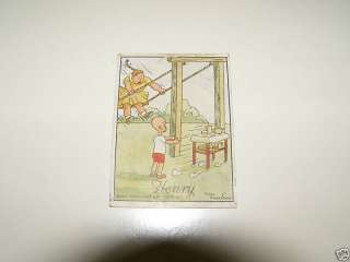 VINTAGE TAREYTON CIGARETTE CARD HENRY CARL ANDERSON