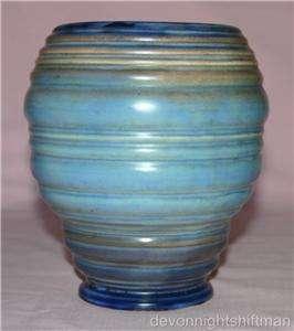 Vintage Carlton Ware Ribbed Vase
