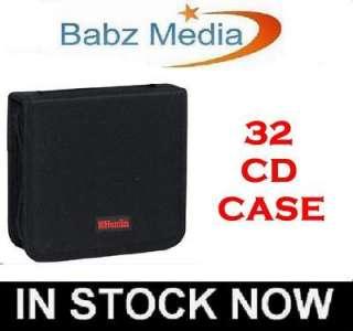 32 CD DVD DISC STORAGE HOLDER CARRY CASE WALLET BAG