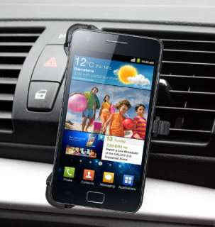 Vent Car Holder & Charger For Samsung Galaxy S2 i9100