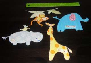 JUNGLE CHUMS ANIMALS VINYL WALL STICKERS STICKAROUNDS