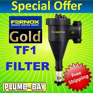 Fernox TF1 Total Magnetic Heating Gold Sludge Filter
