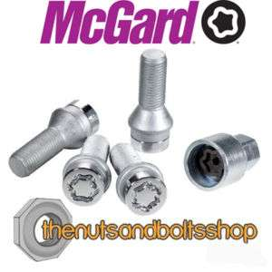 MCGARD LOCKING WHEEL BOLTS FOR VAUXHALL ASTRA COUPE |