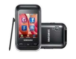 BRAND NEW SAMSUNG GT C3300K BLACK MOBILE PHONE UNLOCKED