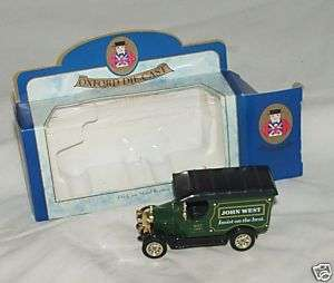 OXFORD DIE CAST MODEL REPLICA JOHN WEST VAN