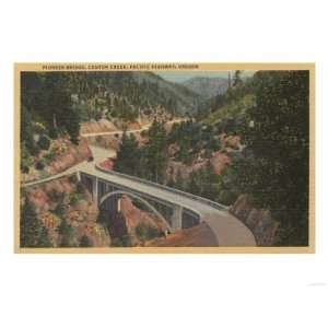 Southern Oregon   Pioneer Bridge, Canyon Creek, Pacific
