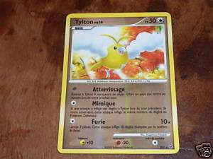 CARTE POKEMON ULTRA RARE TYLTON SH5 HOLO REV NEUF VF