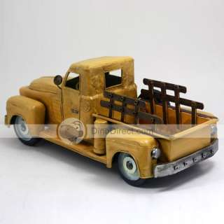 Wholesale Fashion Handmade Wine Frame Truck Car Model   DinoDirect