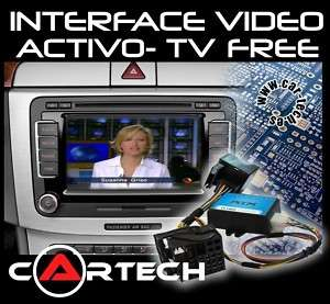 INTERFACE DE VIDEO ACTIVO RNS510 MFD3 MFD2 RNS E