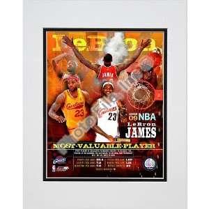 Photo File Cleveland Cavaliers Lebron James Mvp Double