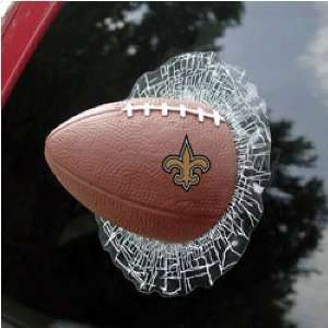 NFL Shatter Ball Window Decal by Rico Industries: Sports & Outdoors