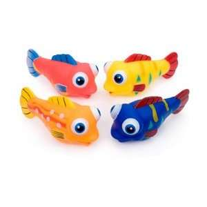 Toysmith Silly Fish Squirter Bath Toy (Sold in Eaches