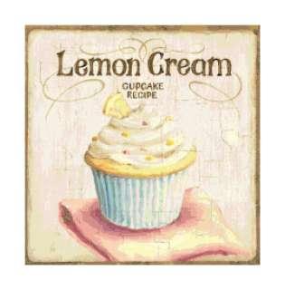 Lemon Cupcake Altered Art Cross Stitch Pattern Chart