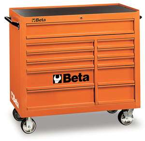MOBILE CARRELLO BETA UTENSILI 11 CASSETTI C38 ORANGE BETA TOOLS