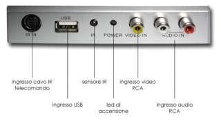 DIETZ DT1493 Tuner TV DVB T digitale terrestre USB auto