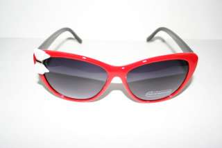 Cateye 50s Vintage Sunglasses retro Black Red White Hello Kitty Bow