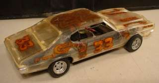 1970S GTO CLEAR BODY DRAG FUNNY CAR BUILT MODEL KIT