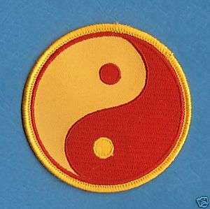 Yin   Yang Karate Judo Tae Kwon Do Patch Martial Arts
