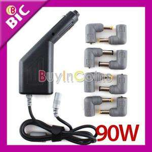 New 90W Universal Laptop Notebook Car DC Power Auto Charger Adapter