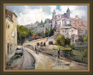 GIRONELLA Pintura Paisajes Cuadros Pintor ERNEST DESCALS