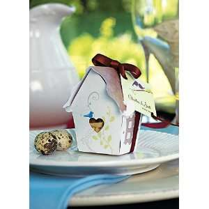 Davids Bridal Sweet Bird House Favor Box Pack of 12 Style