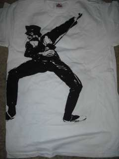 QUEEN Freddy Mercury in Concert T Shirt **NEW