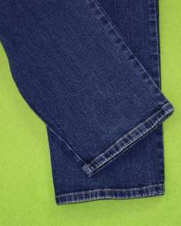 Gloria Vanderbilt sz 7 Womens Blue Jeans Denim Pants Stretch FK46