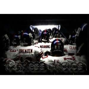 Eli Manning Comming Out of Tunnel Super Bowl New York Giants 8x10