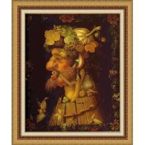 Autumn by Giuseppe Arcimboldo   Framed Artwork:  Home