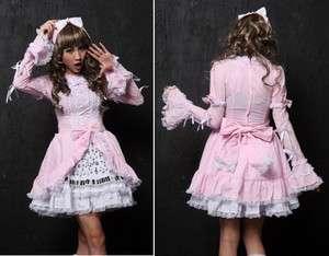 gothique gothic sweet lolita piano dentelle japon rose + serre tête
