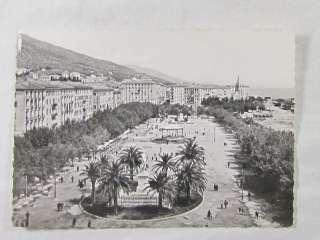 CPA CORSE BASTIA PLACE SAINT NICOLAS 1956