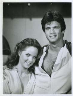 Melissa Sue Anderson Lorenzo Lamas 7x9 Photo #B1998