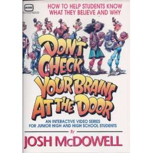 Your Brains At the Door Resource (9780849911552) Josh McDowell Books