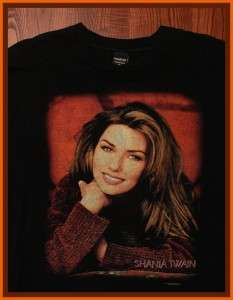 Shania Twain Country Concert Tour T Shirt XL