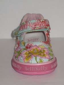 Lelli Kelly Genziana LK8025 Blue Mary Janes Dolly Shoes