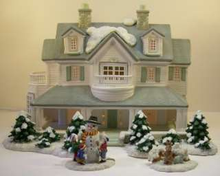 Burns Conahan Christmas Village House Accessories Snow