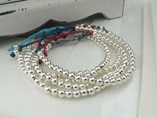 Stunning sterling silver friendship bracelets in a selection of