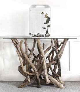 Buy Natural Driftwood Console Table By Karen Miller @ Devon Driftwood
