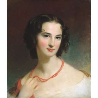 Hand Made Oil Reproduction   Thomas Sully   32 x 38 inches   Mrs James