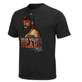 Brian Wilson San Francisco Giants Black Always Epic T Shirt