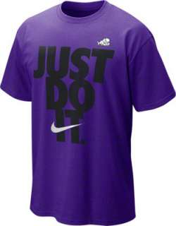 TCU Horned Frogs Nike Purple Just Do It T Shirt