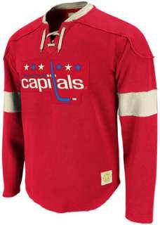 Washington Capitals Red Reebok Retro Sport Jersey 9ac778f09