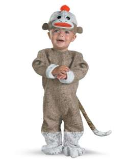 / Animal / Sock Monkey Baby Costume