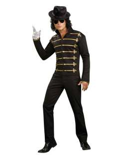 Michael Jackson Black Military Jacket Adult Costume