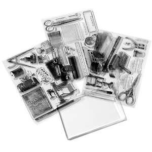 Anna Griffin® Creativity Clear Stamp Set