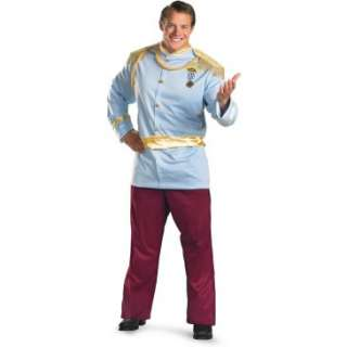 Prince Charming Deluxe Adult Plus Costume, 69945