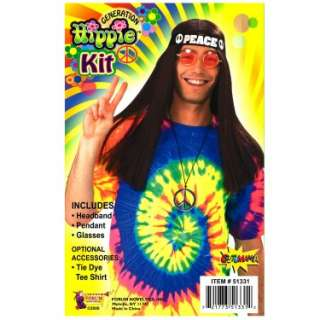 Hippie Accessory Kit (Adult)   Costumes, 33798