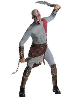 Mens Muscle Chest God of War Kratos Costume  Wholesale Board & Video